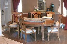 Colored Dining Room Sets Painting A Dining Room Table Home Interior Design Ideas