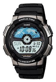 Японские <b>часы Casio</b> Digital <b>AE</b>-<b>1100W</b>-<b>1A</b> - Интернет-магазин ...