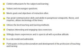 qualities good teacher essays