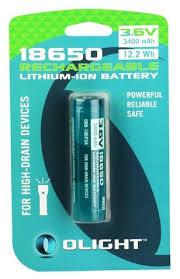 <b>Аккумулятор Li</b>-<b>Ion</b> 3400 мА·ч <b>Olight</b> 18650 <b>ORB</b>-<b>186P34</b>