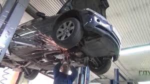 Удаление катализаторов на BMW E46 .Удаление катализаторов ...