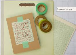 DIY Geek Chic Graph Paper Save the Dates Oh So Beautiful Paper