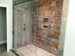 shower bathroom design idea glass frame