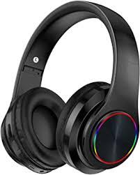 Bluetooth Headphones Over Ear with Deep Bass, Ulecc <b>B39</b> LED ...