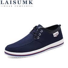 <b>LAISUMK 2019 Men's Shoes</b> Plus Size 39 47 <b>Men's</b> Flats,High ...