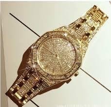 Online Shop <b>luxury brand Men</b> Women Watch Crystal <b>Bracelet</b> ...