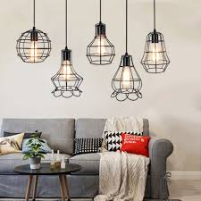 <b>Creative</b> Industrial wind Pendant Lamp Vintage <b>Birdcage</b> ...