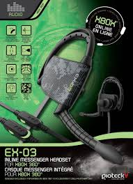 xbox games console walmart ex 03 inline messenger headset for xbox 360