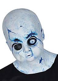 <b>Halloween</b> Haunted Broken <b>Bisque</b> Doll <b>Mask</b>: Amazon.co.uk: Toys ...