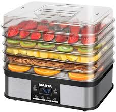 Отзывы: <b>Сушилка для овощей</b> и фруктов <b>MARTA</b> MT-1952 Black ...