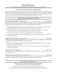 hospitality manager resumes template housekeeper resumes