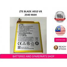 BSS <b>Zte</b> Blade A910 V8 <b>Battery</b> Replacement <b>Li3925T44P8H786035</b>