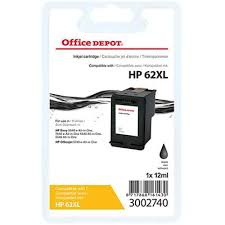 Office Depot <b>Compatible HP 62XL Ink</b> Cartridge C2P05AE Black ...