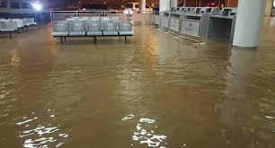 Resultado de imagen para fotos inundaciones aeropuerto de puerto plata