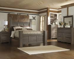 grey finish pc bedroom set ca montecalo gu brilliant grey wood bedroom furniture set home
