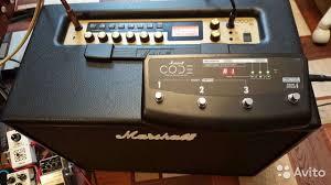 <b>Гитарный комбо усилитель Marshall code 50</b> купить в Ноябрьске ...