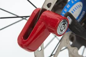 For Scooter Mountain Bike <b>Bicycle Motorcycle Disc</b> Brake Lock Theft ...