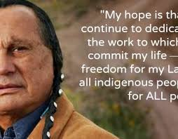 Sioux - Russell Means Indian Activist Actor Dies at 72 - OglalaSiouxRussellMeansQuote
