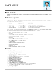 Resume How To Write An Objective For A Resume Moresume Co ... good ...
