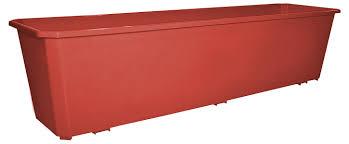 Купить <b>Ящик</b> балконный InGreen терракотовый, <b>80</b> см по цене ...