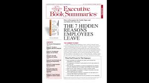 the hidden reasons employees leave employee apply employers the 7 hidden reasons employees leave 7reasons jpeg