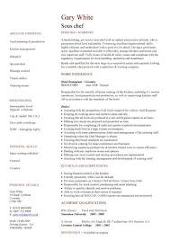 resume chef resume example chef resume objective