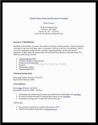 resume in retail store s retail lewesmr sample resume sample resume for retail store sample