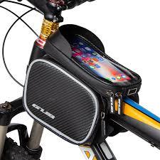 <b>GUB 925</b> 6.6 Inch Mobile Phones <b>Bike</b> Front Frame Bag Waterproof ...