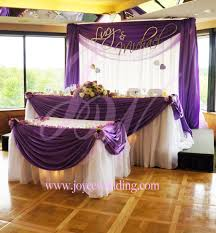 Cake Table Decoration Small Backdrop Matching Drapery Styles For Head And Cake