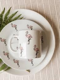 Набор посуды Розовый <b>фламинго</b> (2 в 1: <b>кружка</b>+тарелка ...