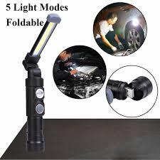 Protable Spotlight Working <b>Light COB</b>+<b>LED Rechargeable Magnetic</b> ...