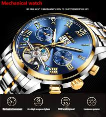 <b>LIGE</b> Mens Watches Fashion Top Brand <b>Luxury</b> Business ...