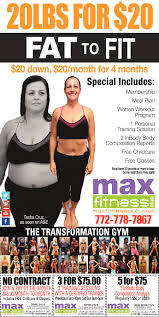 max fitness from fat to fit services ads from tcpalm max fitness fitness ads from tcpalm