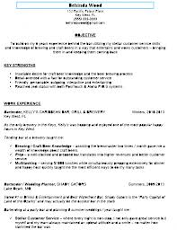 resume bartender skills sample customer service resume resume bartender skills bartender resume samples cover letters and resume if you use the above sample