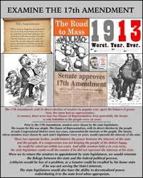 「1913 Seventeenth Amendment to the United States Constitution」の画像検索結果