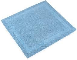 """<b>Коврик</b> для <b>ванной</b> Moroshka """"Naturel"""", цвет: синий, 70 х 70 см ..."""