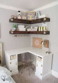 love this corner desk free plans and full how to tutorial www chic corner office desk