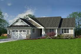 Canadian Cottage Plans   Houseplans comCraftsman style  Ranch Design  front elevation