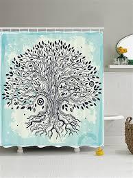 """Штора (<b>занавеска) для ванной</b> """"Дерево рассказов"""", 180х200 см с ..."""