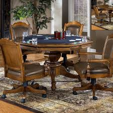 Lucite Tables Wood Foldable Table <b>Indoor Oak</b> Finish Game Living ...
