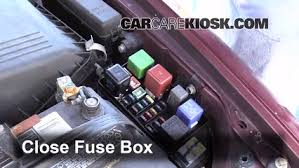 replace a fuse 1992 1996 toyota camry 1995 toyota camry le 2 2l 6 replace cover secure the cover and test component