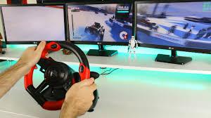 Budget <b>racing wheel</b> to start out with - <b>Speedlink Trailblazer</b> Review ...