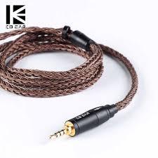 <b>KBEAR 16</b> Core Upgraded <b>Pure Copper</b> Balanced Cable 2.5/3.5/4.4 ...