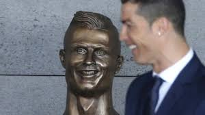 Image result for ronaldo sculpture + images