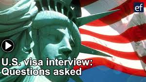 common questions asked during the u s visa interview