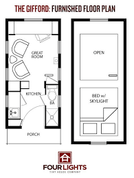 W  Builds Sq  Ft  Gifford Tiny House on WheelsGifford Tiny House Floor Plan