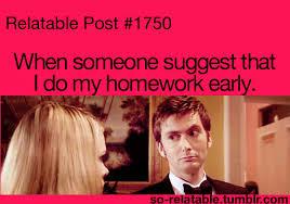 me do no homework