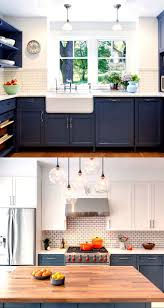 painted blue kitchen cabinets house:  most gorgeous paint color palettes for kitchen cabinets and beyond easily transform your kitchen with these all time favorite colors and designer tips