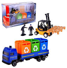 Купить набор пластиковых <b>машинок</b> Cararama Cleaning Service 2 ...