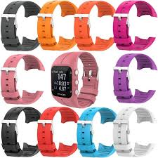 <b>Silicone Replacement Watch Band</b> Bracelet Strap for Polar M400 ...